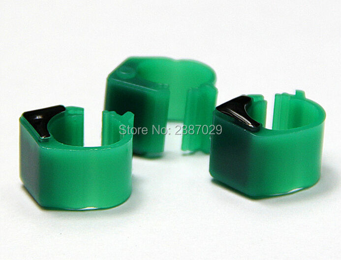 Passive Rfid Tag 125KHz rfid pigeon foot ring for identification and tracking 134 2khz rfid pigeon tag ring with hitag s256 chips for identification and tracking 10pcs lot