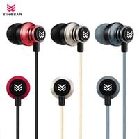 Original EINSEAR T2 In Ear Earphone 3 5MM Stereo In Ear Headset Dynamic Earbuds Aerospace Aluminum
