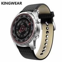В наличии Kingwear kw9 ОС Android 5.1 Смарт часы 1.39 дюймов 400*400 SmartWatch телефон Поддержка 3G WI FI GPS для xiaomi iphone Huawei