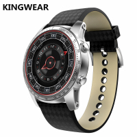In stock kingwear KW9 Android 5.1 OS Smart Watch 1.39 inch 400*400 SmartWatch Phone Support 3G WIFI GPS For xiaomi iphone huawei