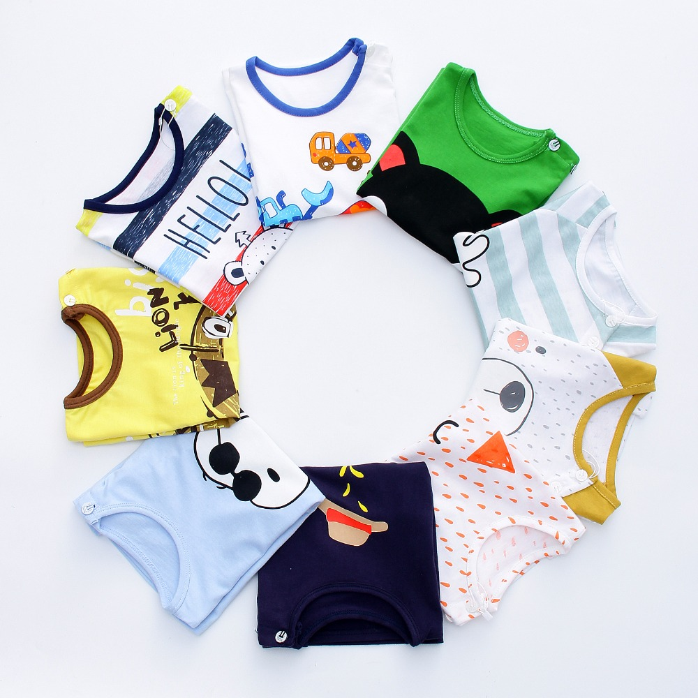 2pcs Baby Boy Outfit Set Summer 2017 Cute Newborn Baby Sets Infant Girl Clothing Suits Short Sleeve Cotton Toddler Baby girl Set infant baby boy girl 2pcs clothes set kids short sleeve you serious clark letters romper tops car print pants 2pcs outfit set