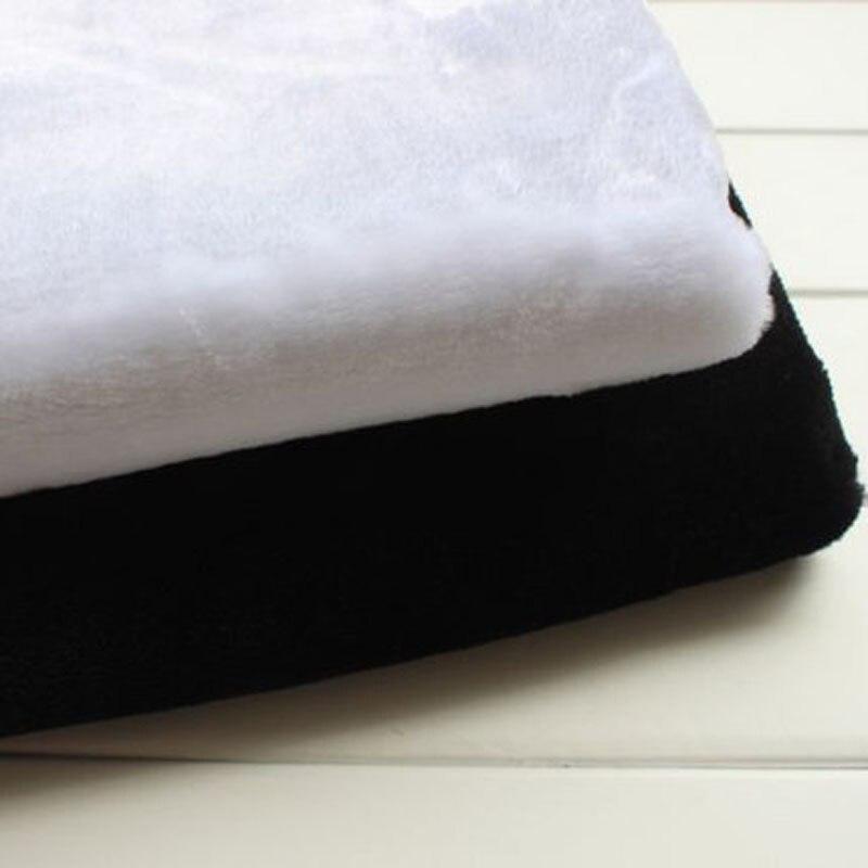150x50cm1pc Good Rabbit Faux Fur Fabric Black or White Faux Fur Fabric Plush Fabric Sewing Material Diy Home Textile &Clothing