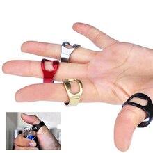 2 шт./пакет EDC на открытом воздухе уникальный творческий Универсальный Нержавеющая сталь палец кольцо-Форма пива открывалка для бутылок Бар/открывашка для содовой инструмент
