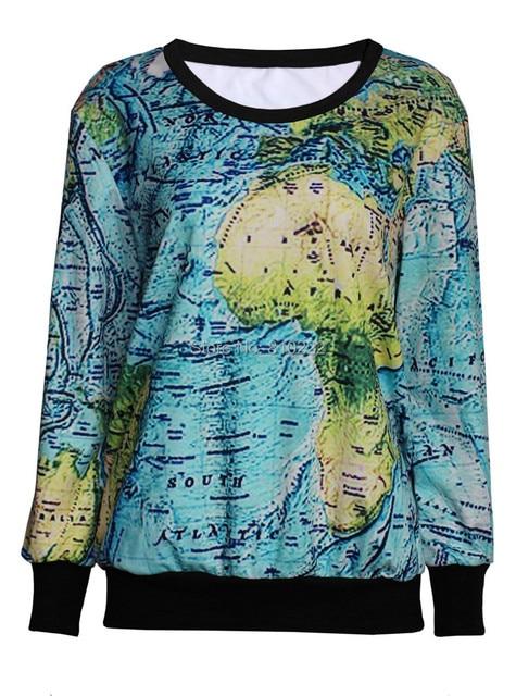 World Map Sweater.World Map 3d Sweatshirt Print Women Girl Boy S Sweatshirt Hoodies