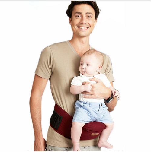 Transporte de bebê Hipseat envoltório portador de bebê fezes cintura estilingue do bebê mochila infantil da criança do bebê de espera de produtos