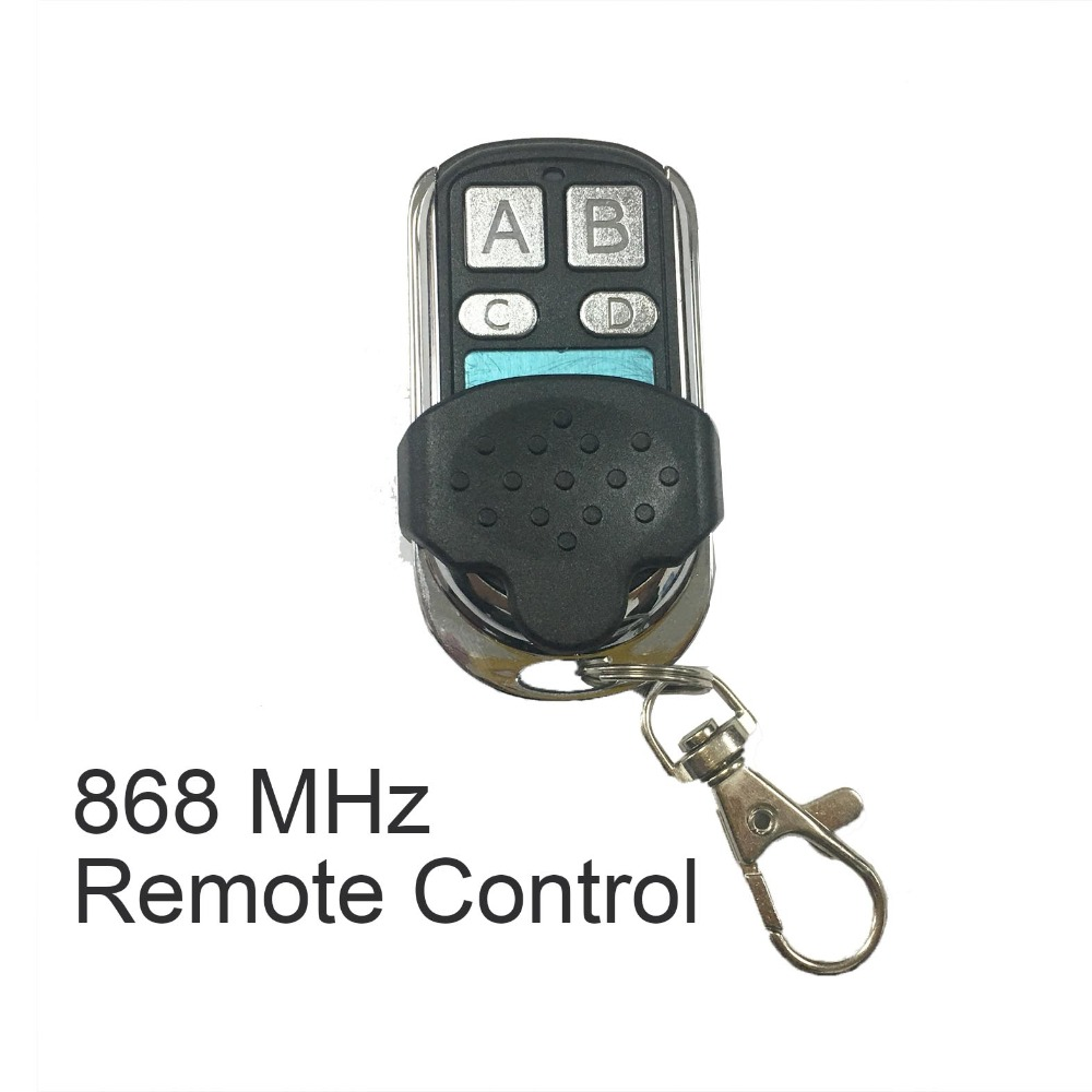 QIACHIP 868 MHz Universal Remote Control Duplicator Cloning Copying Transmitter Gate Garage Door Opener Switches Key Fob 433 868 315 mhz garage door remote control presentation universal car gate cloning rolling code remote duplicator opener key fob