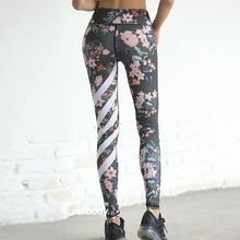 Comfy Floral Print High Waist Compression Leggings
