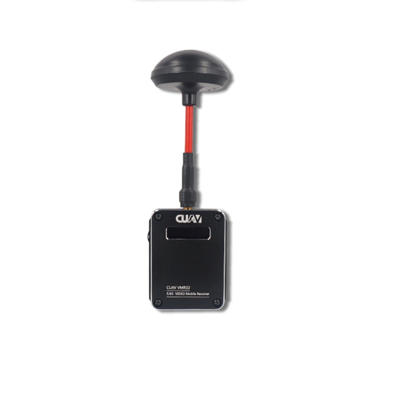 New Free shipping CUAV rc transmitter Receiver VMR32 5.8G Wifi Video Mobile Image Transmission for Phone Tablet PC AV Display
