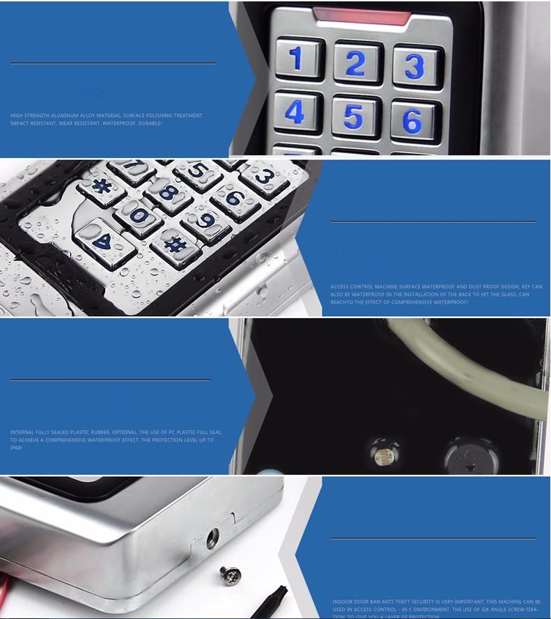 ciecoo keypad door access control system