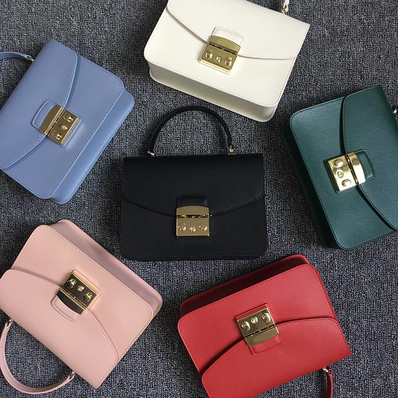 Luxury Woman shoulder Bags New genuine Leather Handbags Women Messenger Bags Famous brand Fashion designer Totes evening Bags fashion luxury genuine leather lady bags girls chains bag famous brand shoulder bags woman handbags women bags designer totes