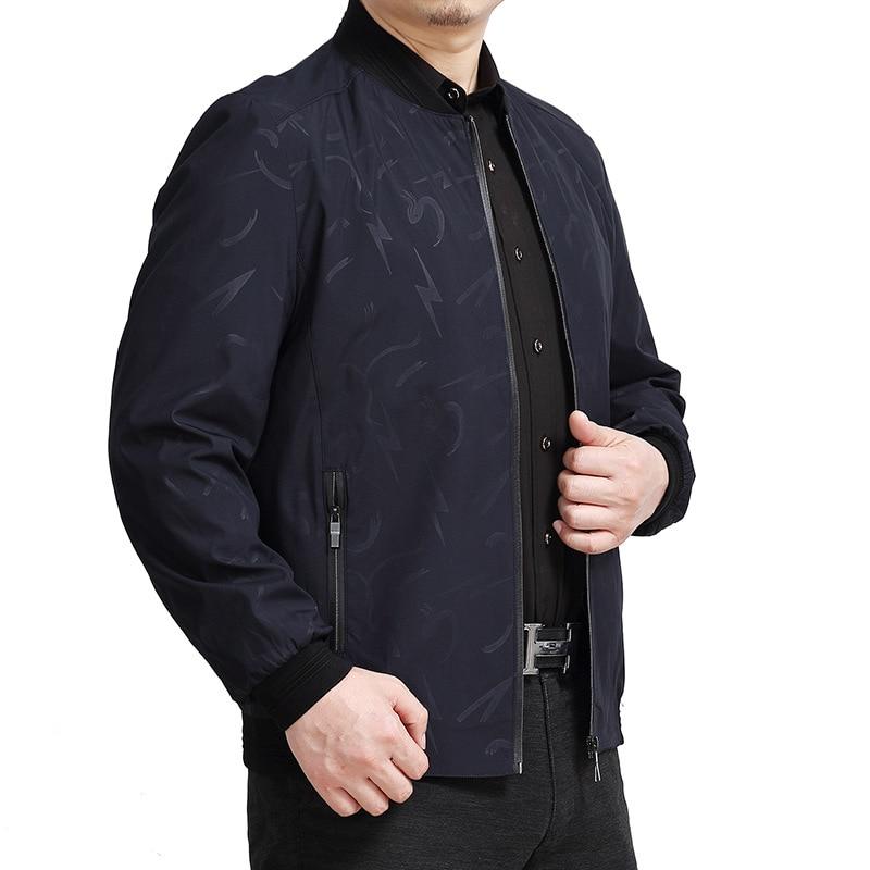 6xl Otoño Más Chaqueta Pring Primavera 4xl Tamaño blue 3xl red 8xl Outwear Black 150 5xl 108 7xl Collar Moda 60 Kg Hombres Stand CInCx