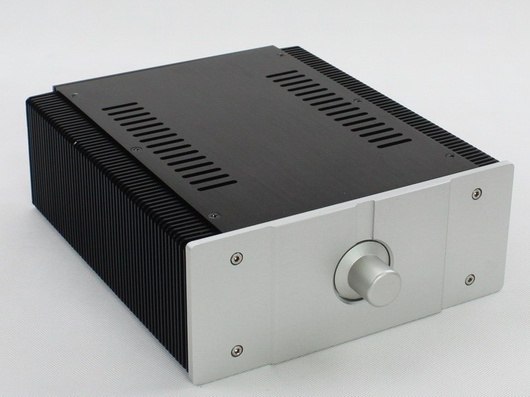 WA56 Full Aluminum Enclosure Mini AMP Case/ Power Amplifier Chassis Box New wa60 full aluminum amplifier enclosure mini amp case preamp box dac chassis