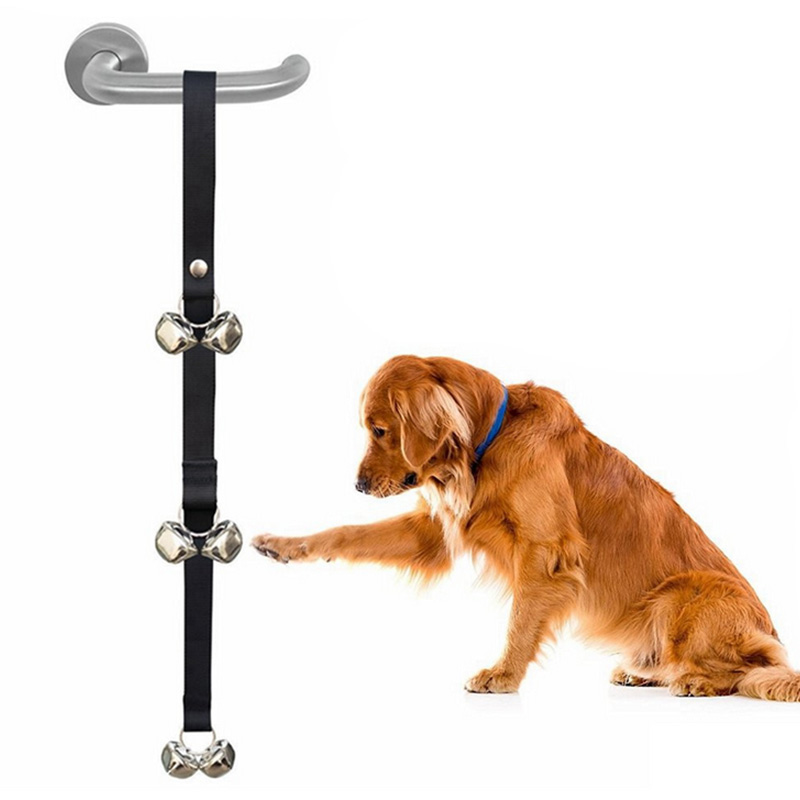 Dog Bells for House Potty Training Your Puppy Loud Sound Puppy Adjustable Loop and Length Fits Every Size Dog and All Door 35 P1
