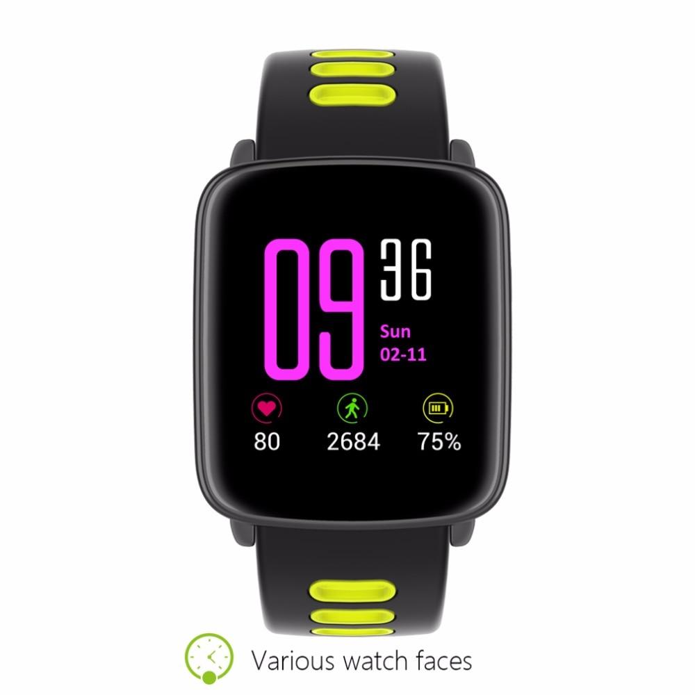 TROZUM GV68 Activity tracker Waterproof IP68 bluetooth smart bracelet heart rate monitor fitness watch For iPhone