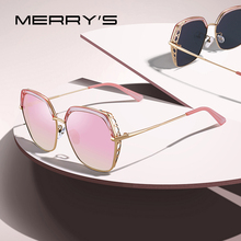 MERRYS DESIGN Women Luxury Square Polarized Sunglasses Ladies Fashion Trending Sun glasses UV400 Protection S6306