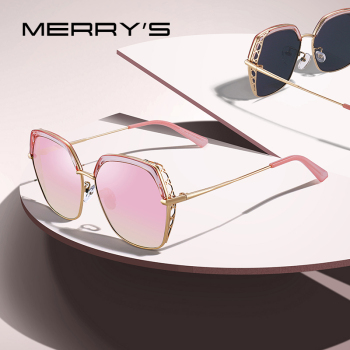 MERRYS DESIGN Women Luxury Square Polarized Sunglasses Ladies Fashion Trending Sun glasses UV400 Protection S6306 Women's Glasses