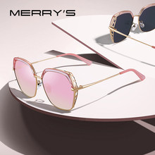 MERRYS DESIGN Women Luxury Square Polarized Sunglasses Ladies Fashion Trending Sun glasses UV400 Protection S6306(China)