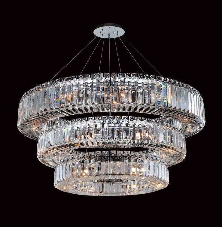 Round 3 tier chandelier crystals for chandelierscontemporary round 3 tier chandelier crystals for chandelierscontemporary dining room chandelier lampd925291cm w x 30cm h in chandeliers from lights lighting on aloadofball Gallery