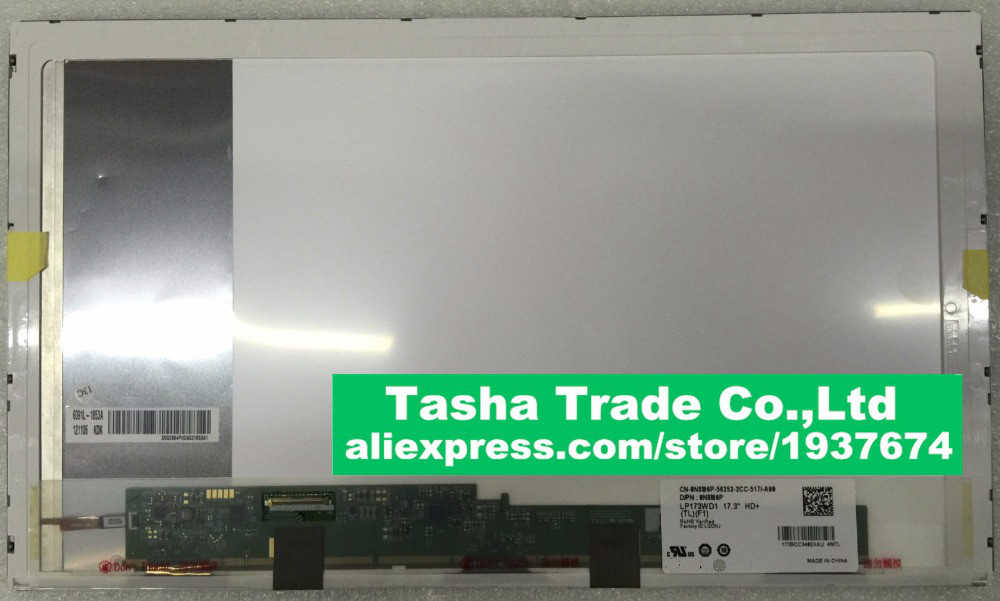 купить 17.3''For Asus n73s X70 A70 N76 K73Y K73 notebook Replacement led screen display Laptop LCD matrix 1600*900 40pin