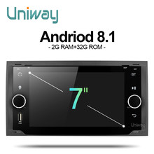 uniway ALLFKS7071 2G+32G android 8.1 car dvd for Ford Mondeo C-max focus galaxy S-max fusion ranger escape expedition fiesta(China)