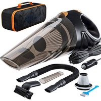 4800pa Strong Power Car Vacuum Cleaner DC 12 Volt 120W with Handbag Cyclonic Wet / Dry Auto Portable Vacuums Cleaner Dust