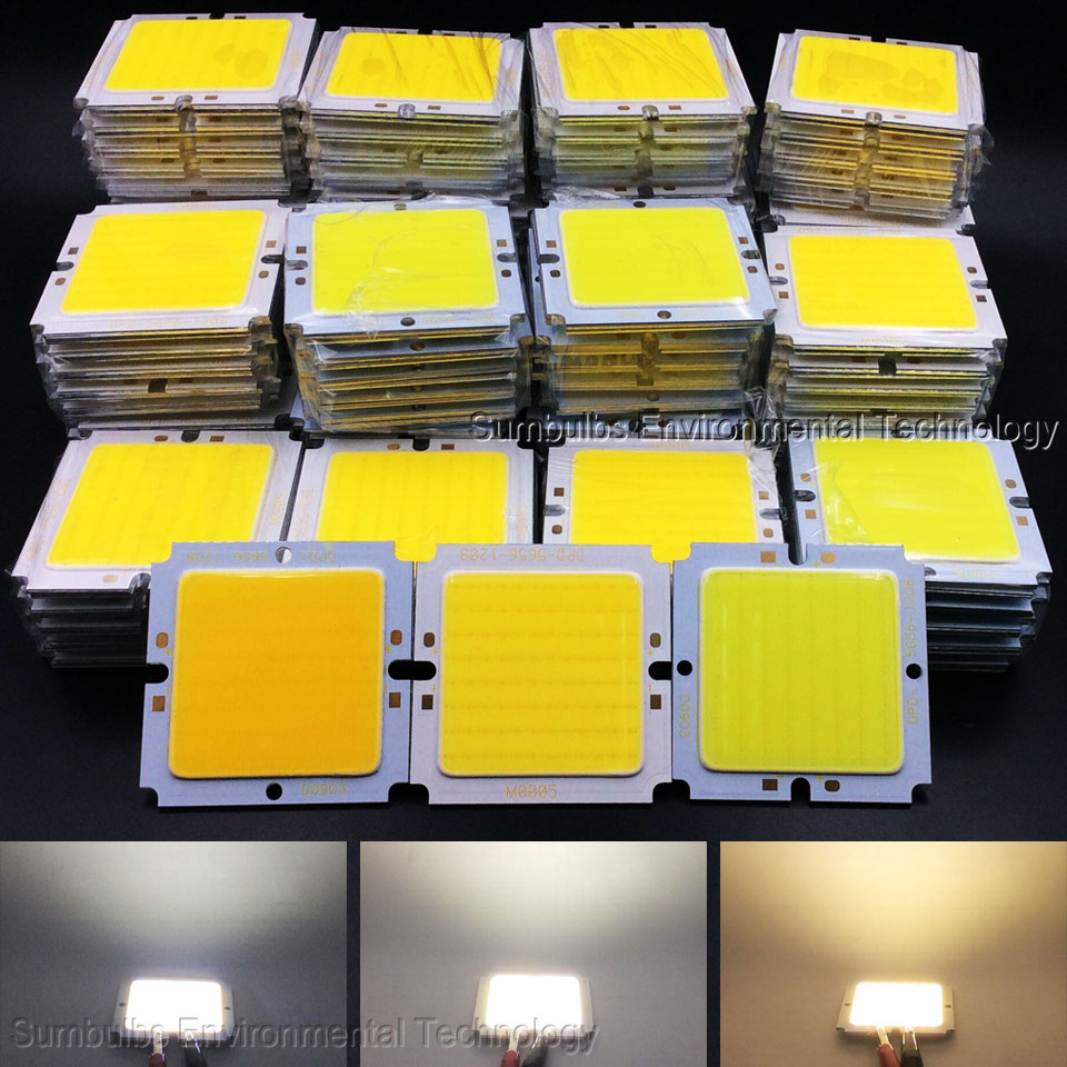 20W 30W COB LED Light 69MM 56MM Square Chip On Board Light Source Lamp for Downlight Floodlight Super Bright DC 36V 40V the new super bright led built dimmable downlight cob 3w 5w mr16 gu10 led spot light led decoration ceiling lamp ac220 led lamp