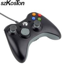 USB Filaire Joypad Gamepad Pour Microsoft Xbox 360 Console Filaire Contrôleur Contrôleur de Jeu Pour Windows7 PC Manette De Jeu