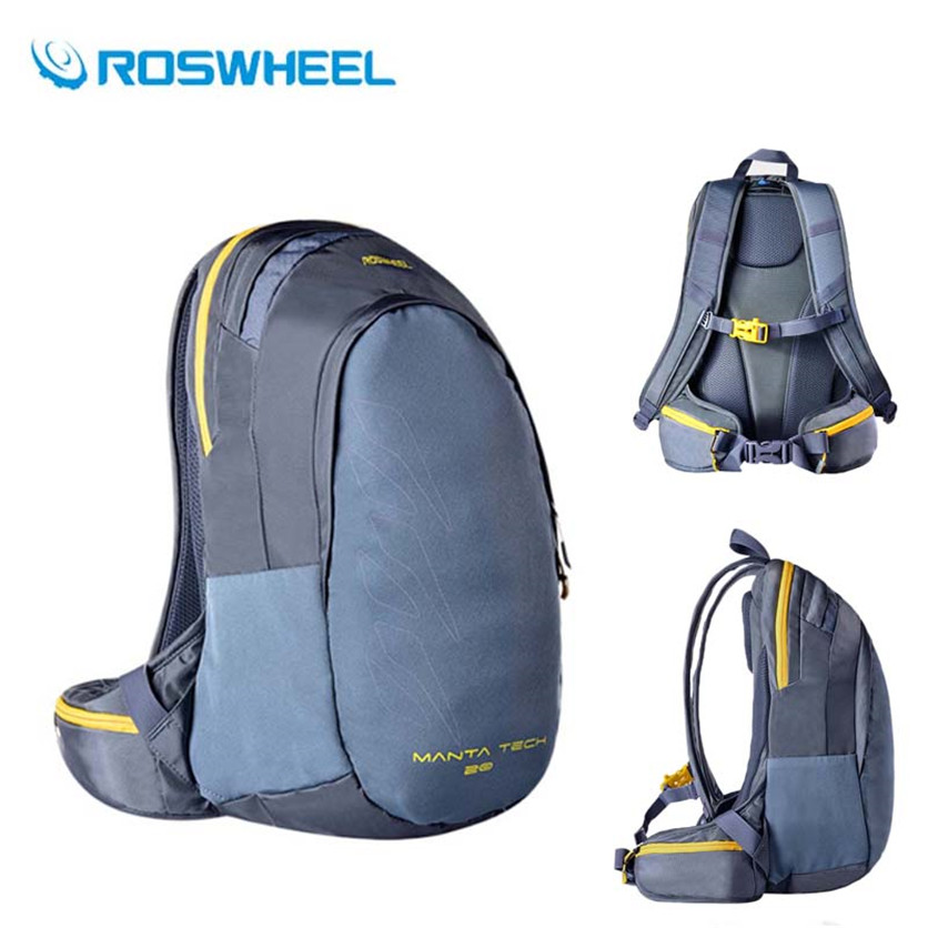 Roswheel Sport Camping Bag High Quality Cycling Travel Hiking Bike Backpack Rain Cover Outdoor Bicycle Water Bladder Rucksack