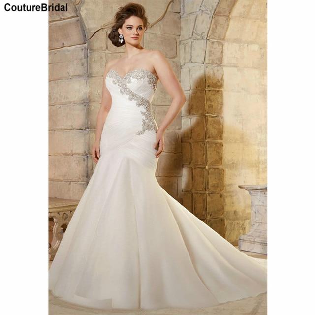 Plus Size Wedding Dresses Elegant Large Size Wedding Gowns for Curvy ...