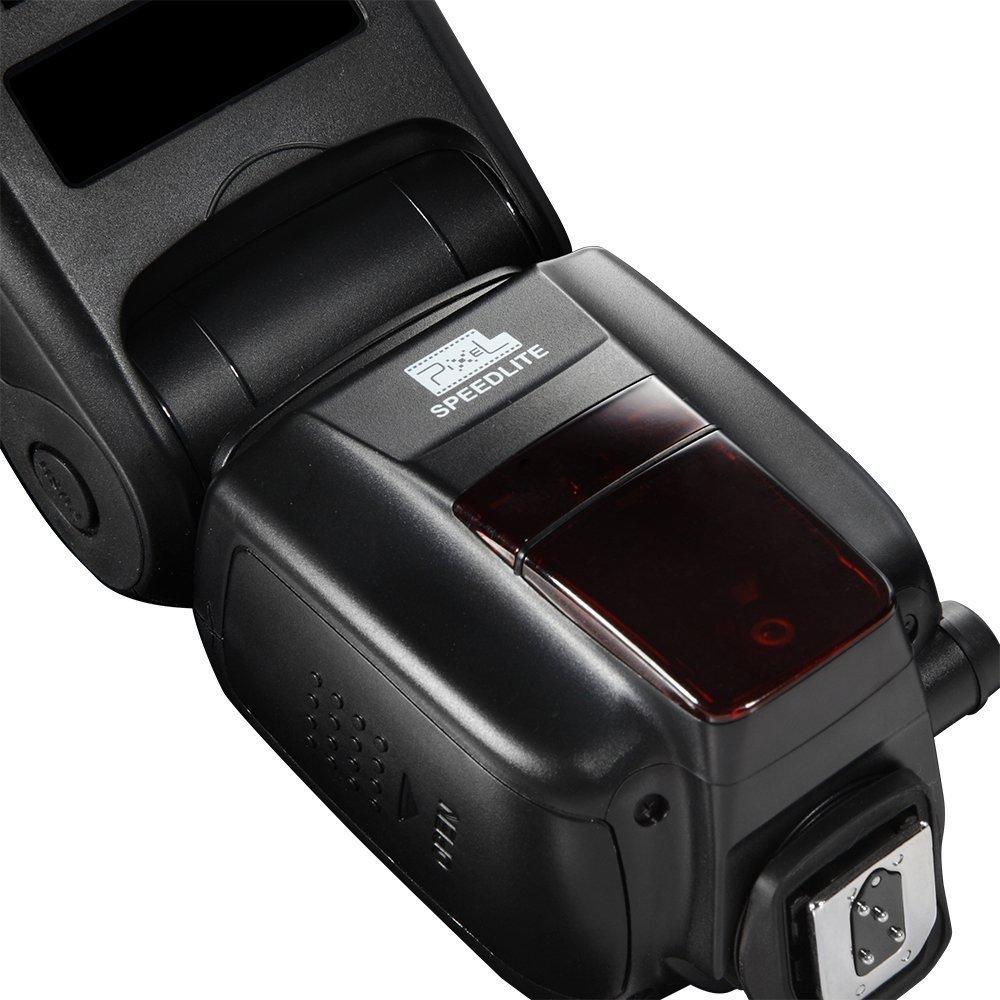 INSEESI Standard X800C X800N X800S GN60 Bezdrátový TTL HSS Flsh - Videokamery a fotoaparáty - Fotografie 5