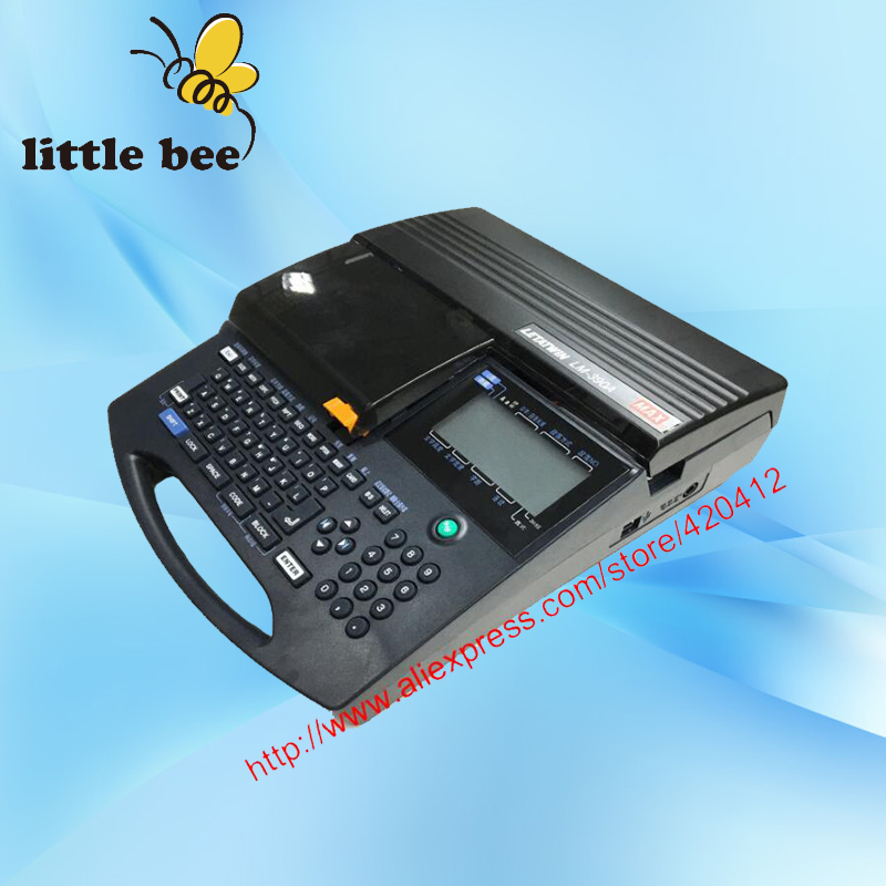 Cable ID marker Electronic Lettering Machine Wire Marking Machine LM 390A PC PVC tube Cabel and