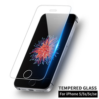 BLOSSOM Tempered glass for iPhone 5 5s se glass for iPhone 5s tempered protective Glass film for iPhone 5 5s 5c screen protector
