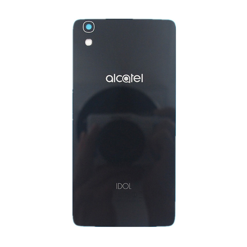 US $7 99 |BaanSam New Glass Battery Back Cover For Alcatel Onetouch Idol 4  OT 6055 OT6055 OT6055K 6055U Housing Case With NFC-in Phone Pouches from