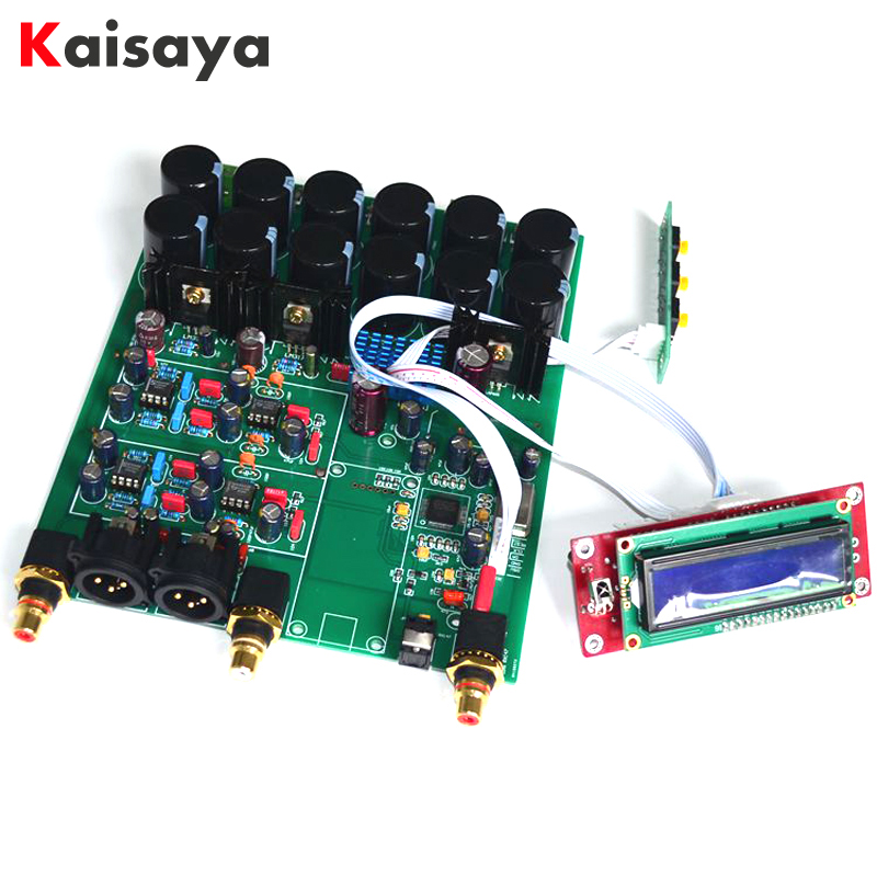 цена на ES9038PRO USB DAC decoder amplifier Amanero Xmos USB Card 32bit DSD HIFI DAC Audio board