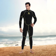 Men's 3mm Back Zip Scuba Diving Wetsuit One-Piece Diving Suit Swimming Surfing UV Protection Snorkeling Spearfishing Wetsuit 2017 spearfishing wetsuit 3mm neoprene surfing suit wetsuit camo swimming fishing wetsuit camouflage diving wet suit o1018