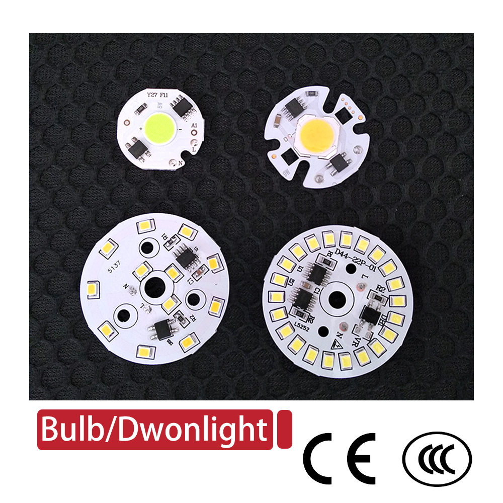 DIY <font><b>Led</b></font>-lampe Lampe SMD 15W 12W 9W 7W 5W 3W Licht <font><b>Chip</b></font> AC230V <font><b>220V</b></font> Eingang Smart IC <font><b>LED</b></font> Bean Für Lampe Licht Downlight image