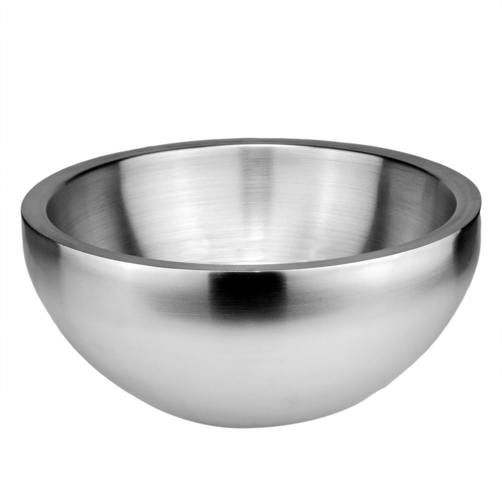popular steel fruit bowlbuy cheap steel fruit bowl lots from  - sky fish double layer  stainless steel salad bowls fruit bowl mixingbowl double