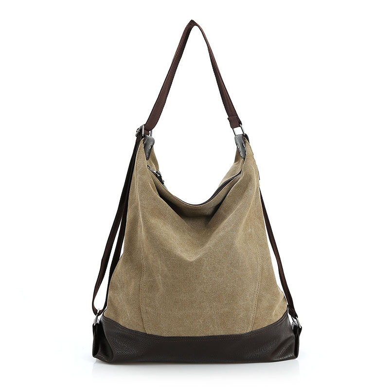 Canvas Women Bag Casual Messenger Kotid Tote Hobo kopad Disainer Brand Vintage Fashion Naiste Crossbody kott õla käekotid