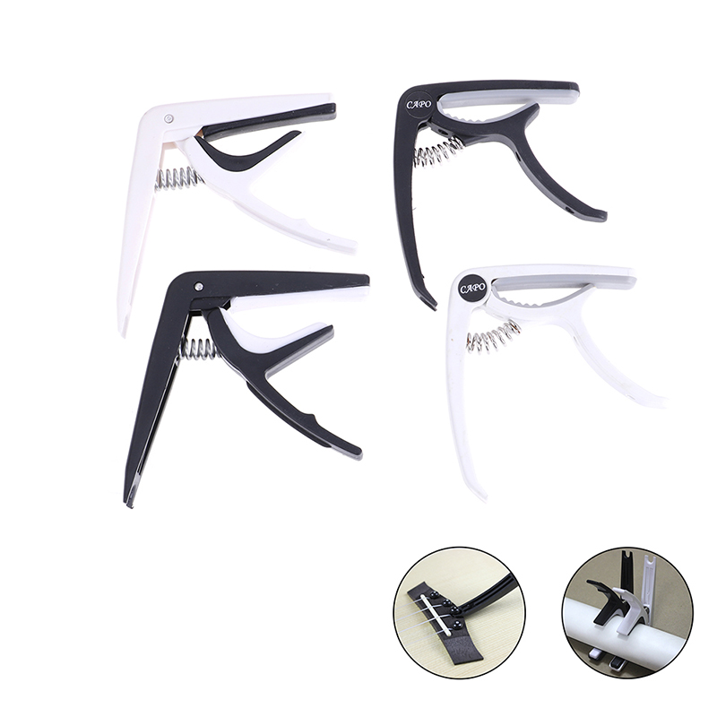 Plastic Guitar Capo for 6 String Acoustic Classic Electric Tuning Clamp Musical