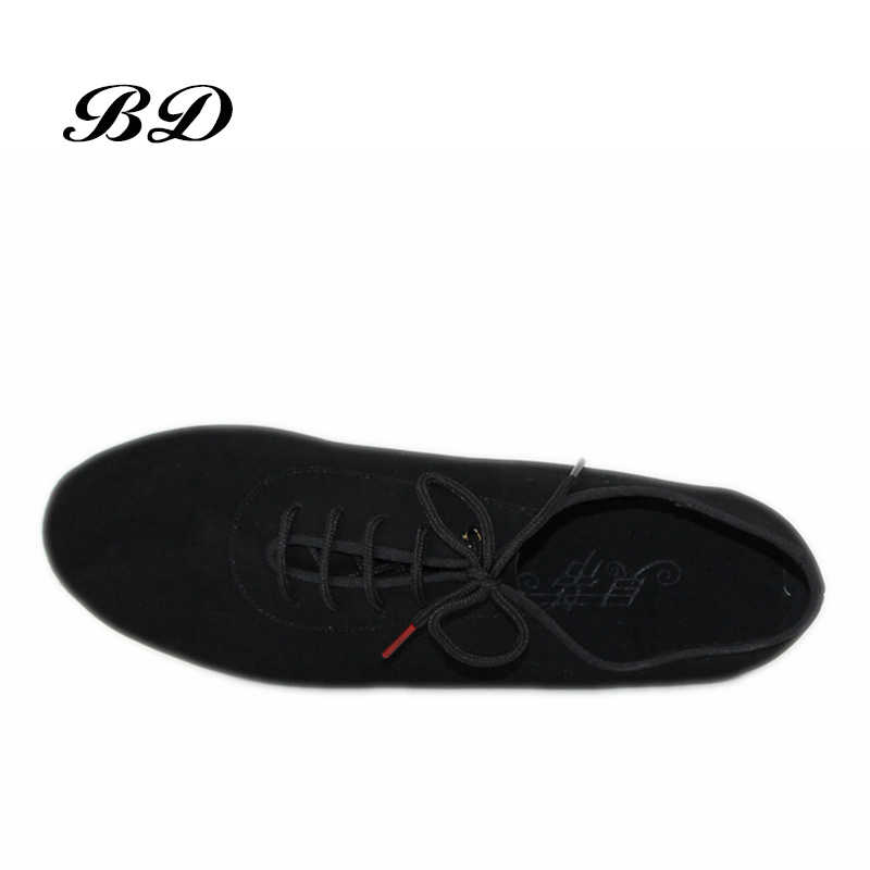 حذاء رجالي مهنة اللاتينية الرقص أحذية قاعة الحذاء الحديث GB الفالس الصداقة لينة جلد البقر قسط أكسفورد كعب 2.5 سنتيمتر BD 309