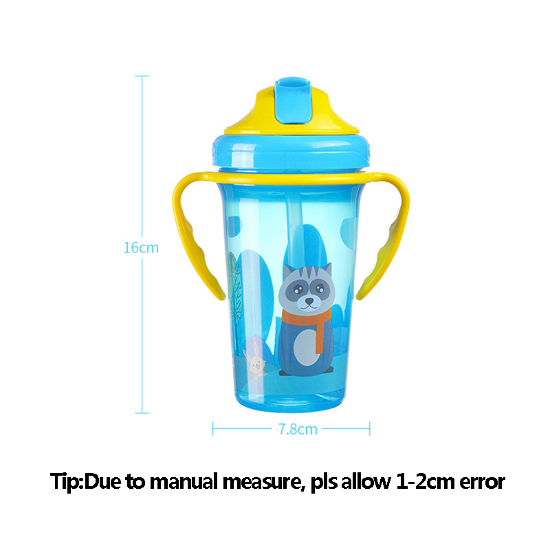 BPA Free New Baby Training Cup Infant Leak-Proof Cute Drinker Toddler Anti-fall Handle Bottles Kid Healthy Drink Kettle MY0052 (3)