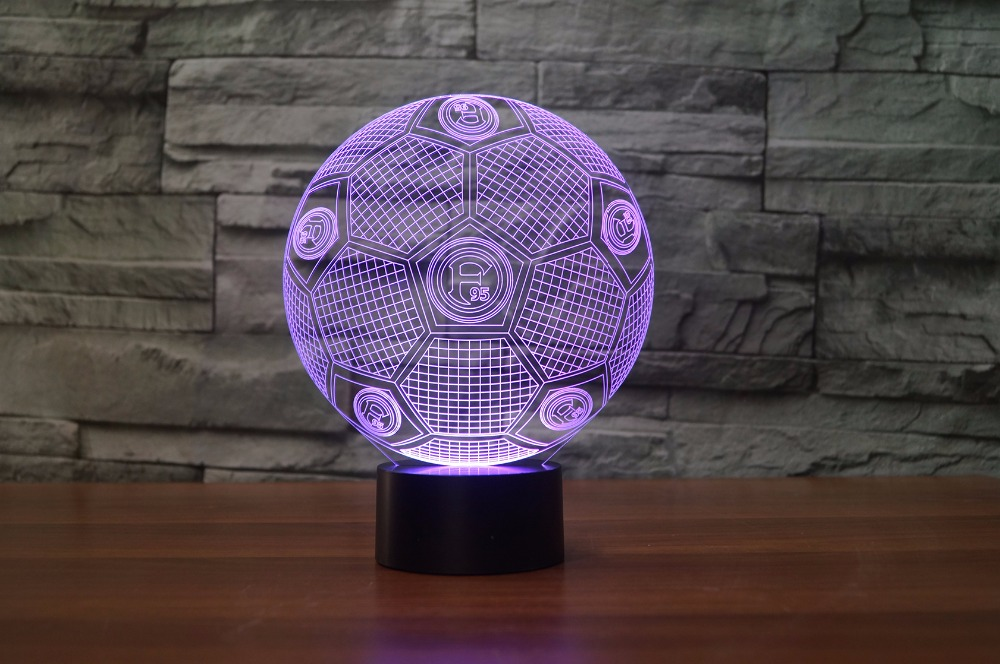 Fortuna Düsseldorf LED 3D Illusion Lamp