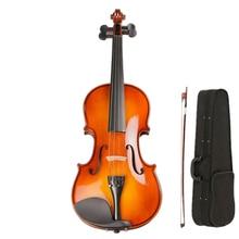 цена на Performance Handmade Violin Italian Technology Pattern 4/4 3/4 1/2 Adult Solid Wood Grading  violin TL001-1B 20 years Wood Made
