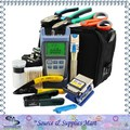 18pcs/set Fiber Optic Tools with FC-6S Fiber Cleaver and Optical Power Meter and Visual Fault Locator and Strippers