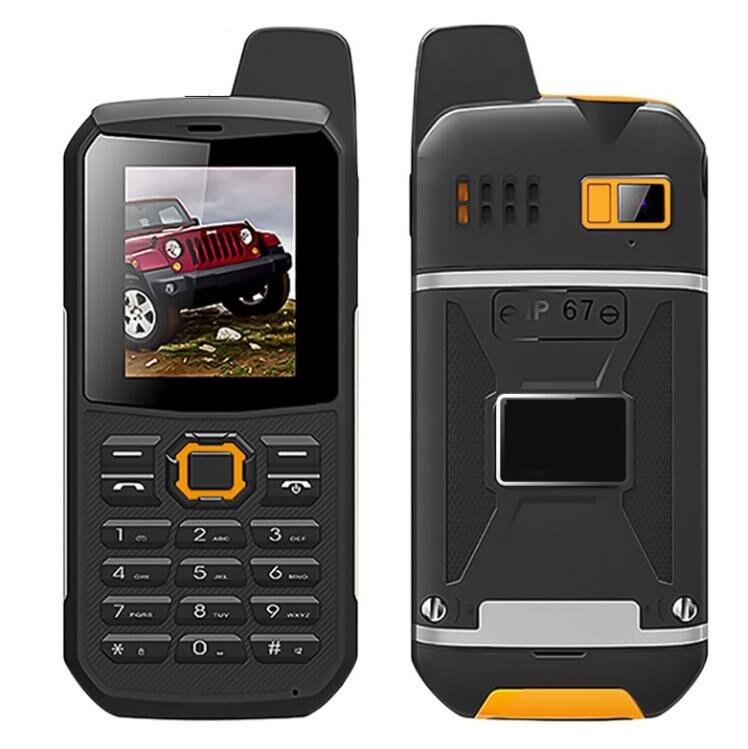 Цена за F8 PTT Walkie Talkie Водонепроницаемый IP67 мобильный телефон power bank Телефон противоударный китай дешевые Сотовые Телефоны русская клавиатура h мобильный