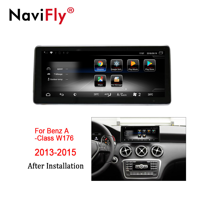 NaviFly 3+32 Android 7.1 car multimedia player for Mercedes Benz Benz A Class W176 2013 2014 2015 GPS stereo head unit 4G LTENaviFly 3+32 Android 7.1 car multimedia player for Mercedes Benz Benz A Class W176 2013 2014 2015 GPS stereo head unit 4G LTE