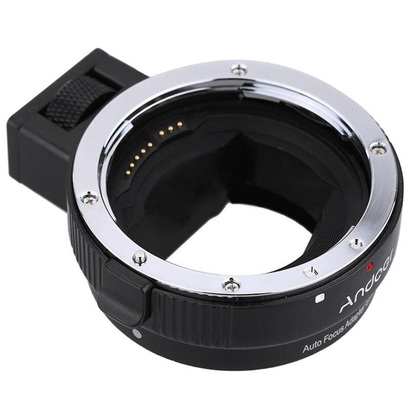 купить Auto Focus AF Lens Adapter Ring for Canon EF EF-S to SONY E-Mount NEX A7 F5Q2 по цене 3045.61 рублей
