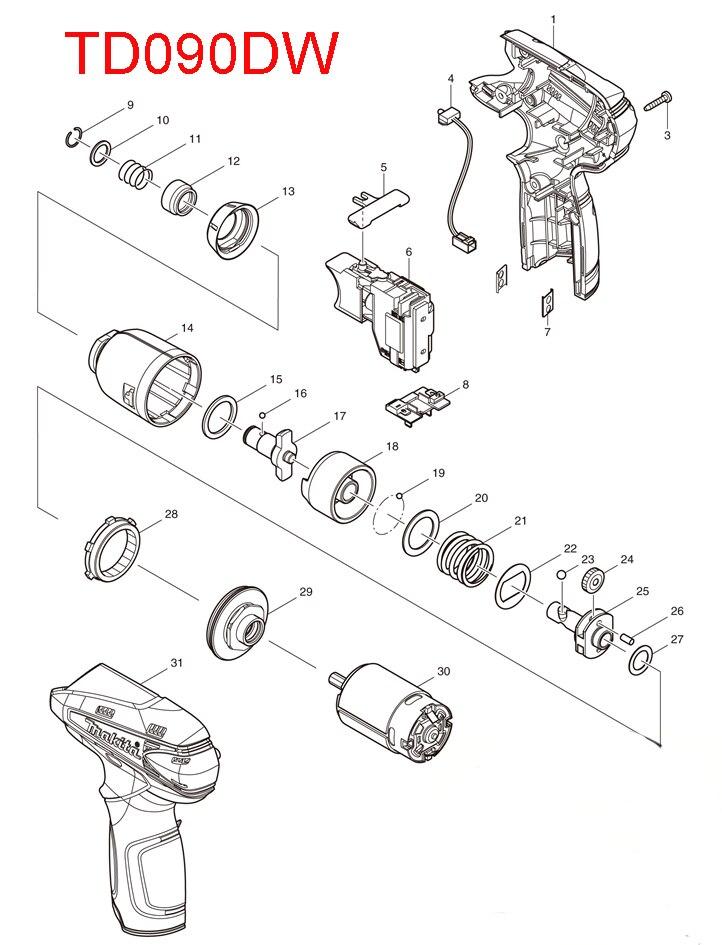 Electric Screwdriver Accessories For ⊱ Makita Makita
