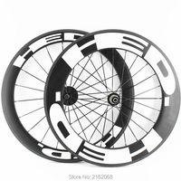 New 700C Front 60mm Rear 88mm Clincher Rim Road Bike Matte UD Full Carbon Fibre Bicycle