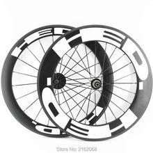 Nowe przednie 60mm + tył 88mm clincher obręczy 700C szosowe matte zestawy kołowe rowerowe UD całości z włókna węglowego 20.5/23/25mm szerokość Bezpłatny statku